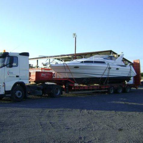 Transporte especial de barcos 002