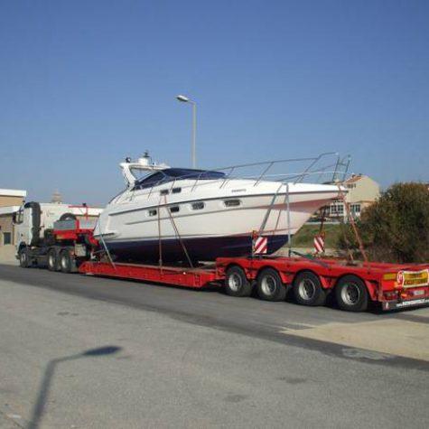 Transporte especial de barcos 001